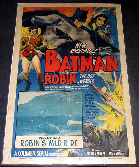 Batman Cartoon Poster 3