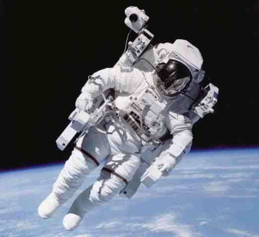 an astronaut goes out for a space walk - photo #21