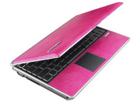 Pink ASUS laptop