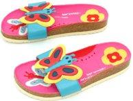 Søde sommerfugle sandaler