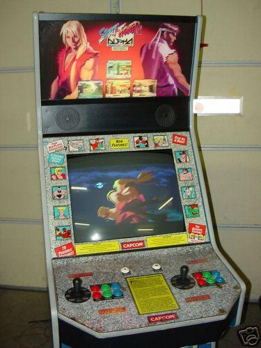 arcade machine fighter
